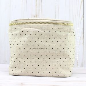 "Kate Spade Insulated Lunch Tote ""Out for Lunch"""